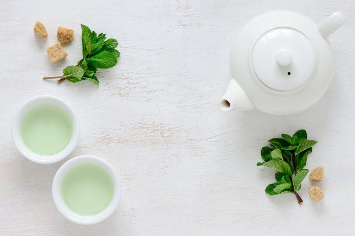 thé vert au corossol